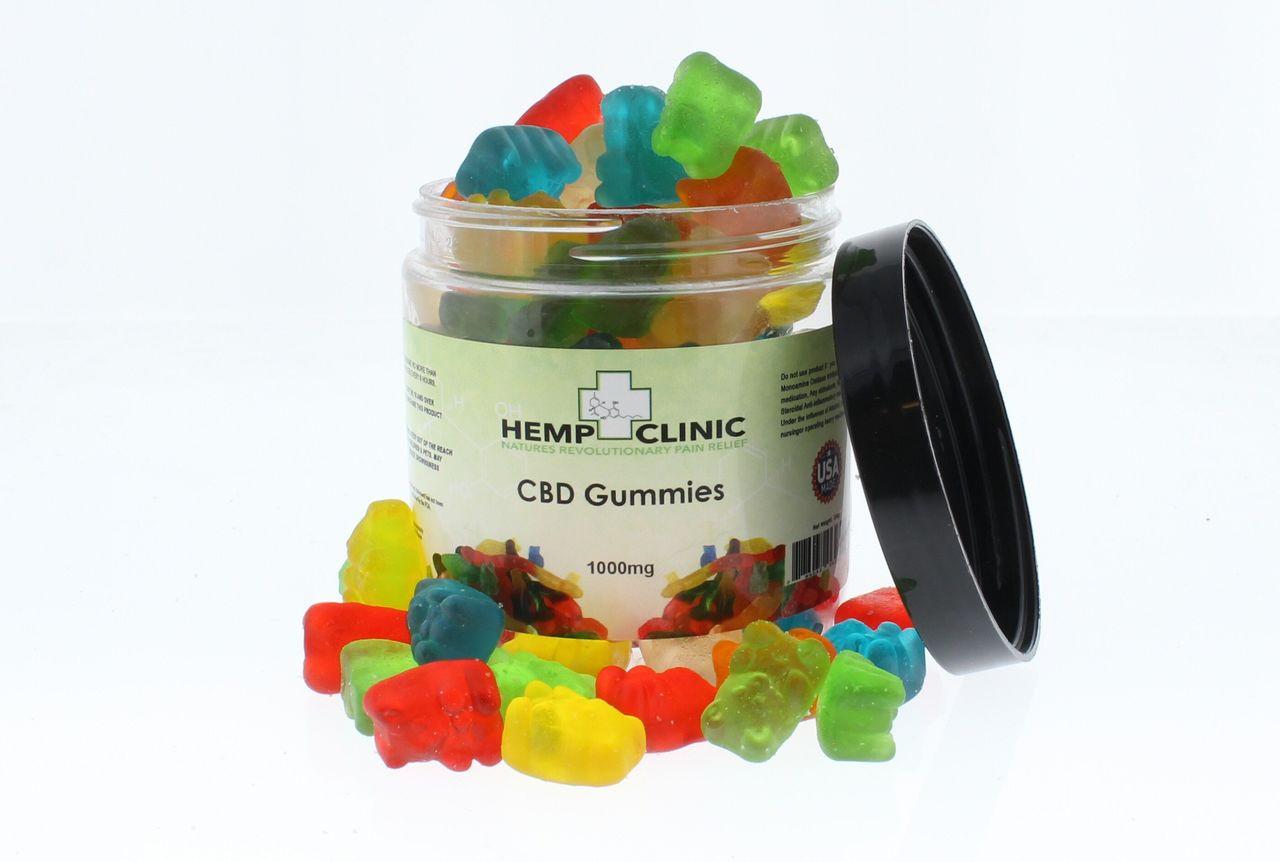 HempClinic 1000MG CBD Gummies