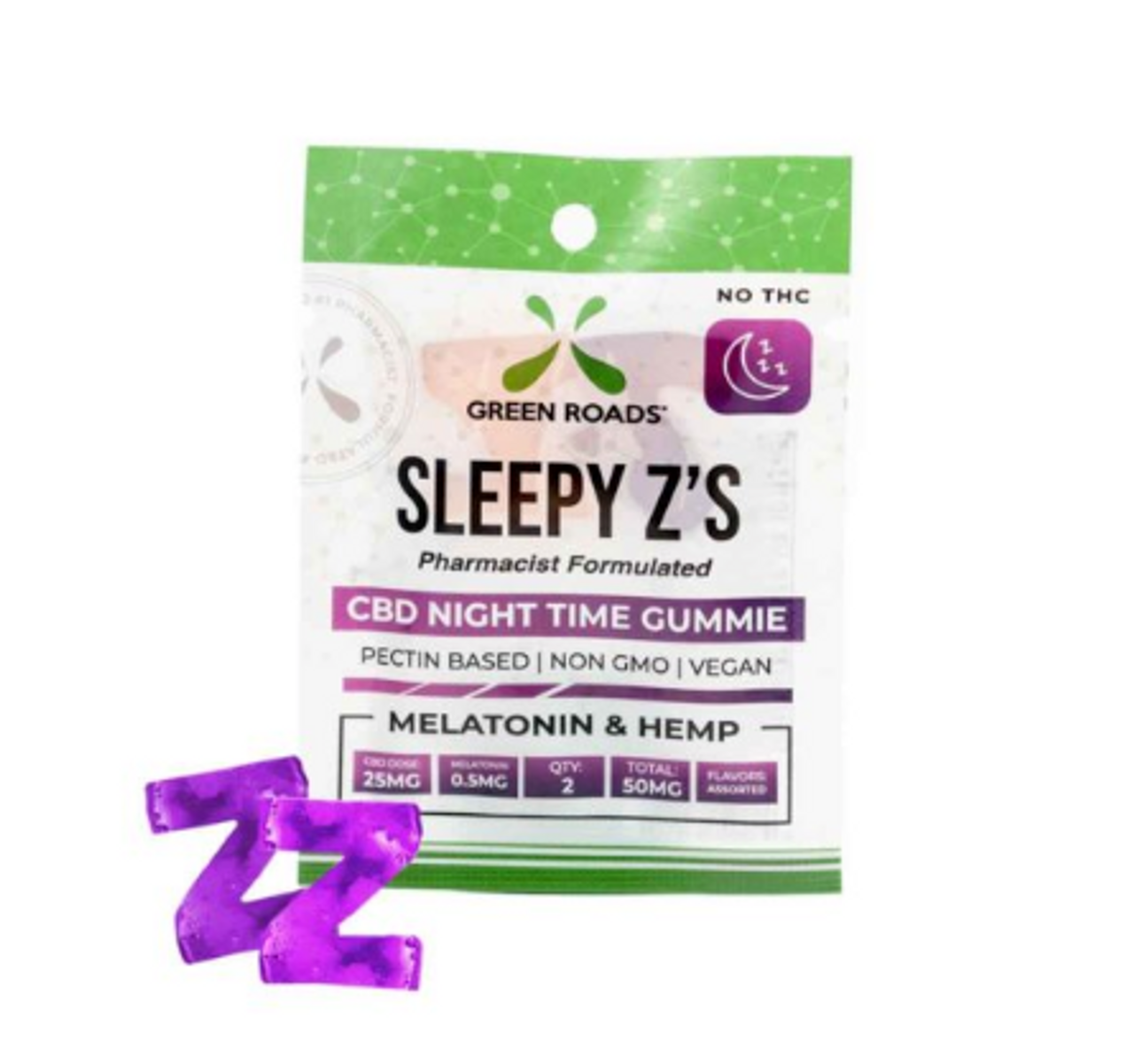 Green Roads Sleepy Z's- 50MG