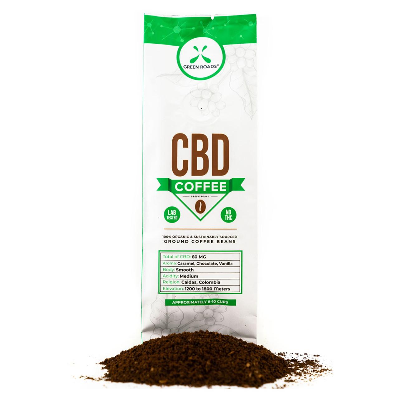 Gourmet CBD Infused Coffee: Chocolate Caramel Vanilla 60mg