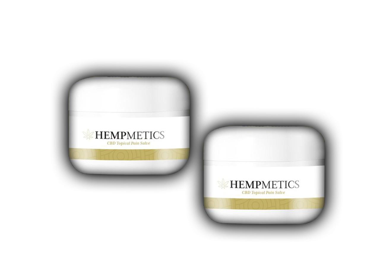 HempMetics 1000mg CBD Topical Pain Salve