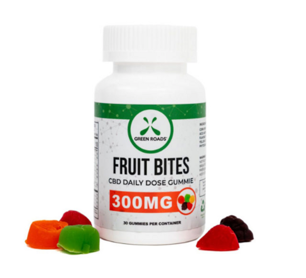 Fruit Bites CBD Daily Dose Fruit Bites 30 Day Supply