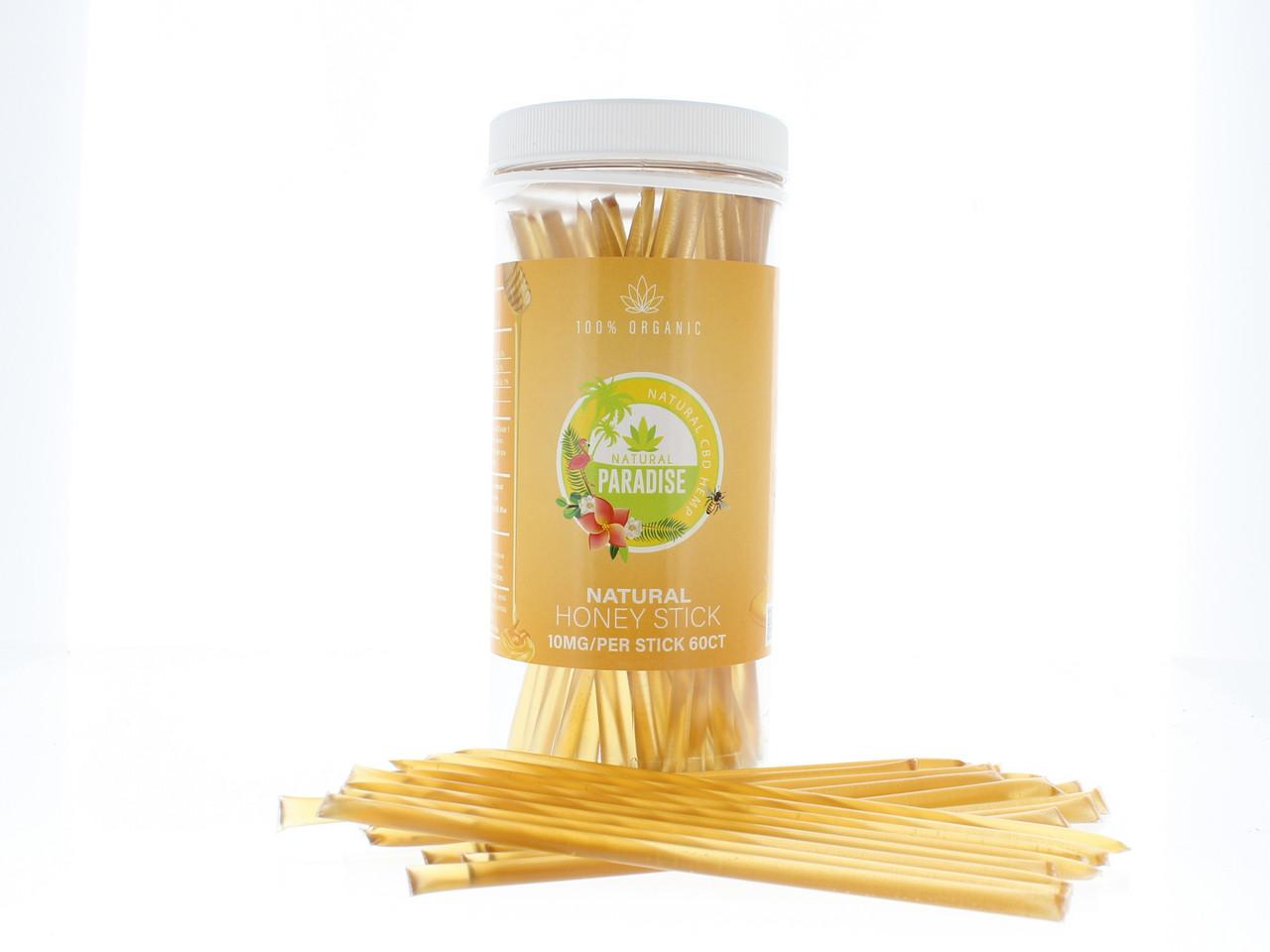 CBD Honey Sticks 10mg Per Stick 60 Count
