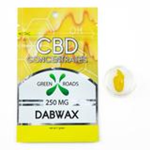 CBD DAB WAX: 250 MG for WAX / CONCENTRATE VAPE PEN & RIGS