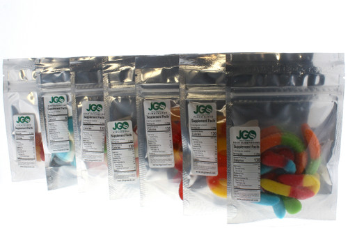 JGO CBD Gummies: 250 MG Strength: Various Flavors Available