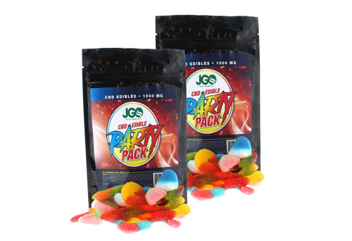 JGO CBD Gummies: 1000 MG Strength: Assorted Flavor Party Pack