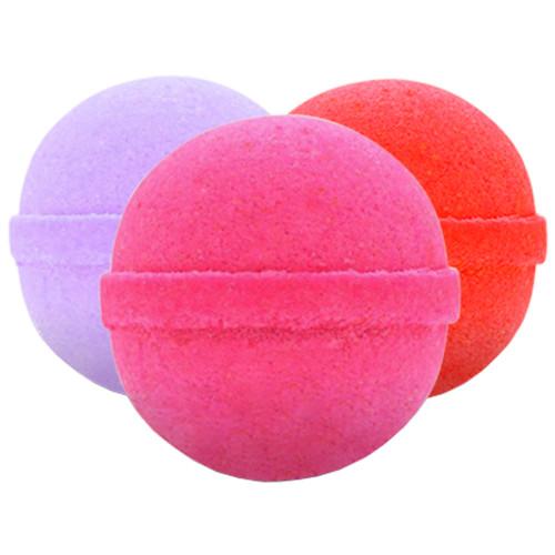 CBD Bath Bomb - Romance, Resist, Relax 100mg Each