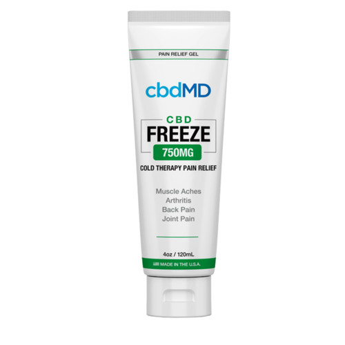 CBD Freeze Pain Relief 4oz Squeeze 750mg
