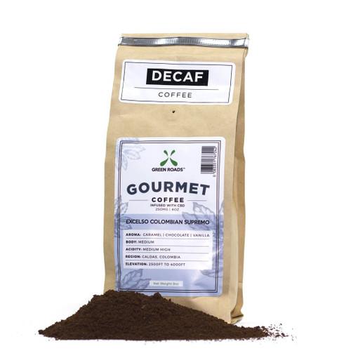 Gourmet CBD Infused Decaf Coffee: Chocolate Caramel Vanilla 250mg