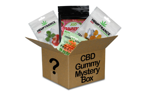 HookahTown CBD Gummy Mystery Box $40 Value Box