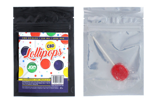 CBD Lollipops- 150MG Jolly Green Oil