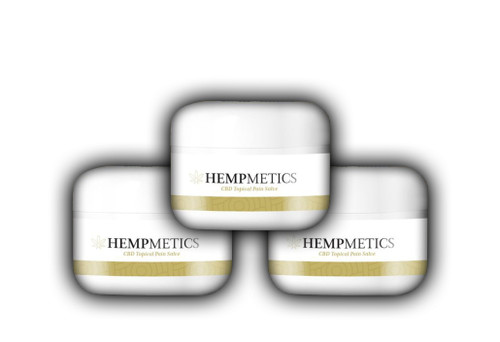 HempMetics 1000mg CBD Topical Pain Salve