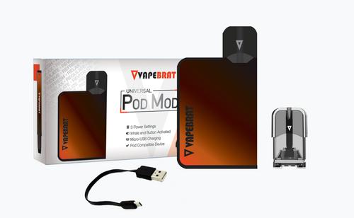 Vapebrat Universal Pod Mod With Empty Pod and Vape Leash