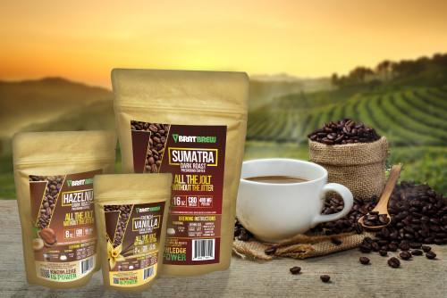 Brat Brew CBD Infused Artisan Coffee Multiple MG Strengths