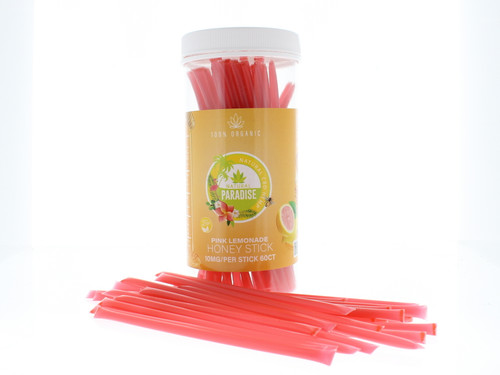 CBD Honey Sticks 10mg Per Stick 60 Count