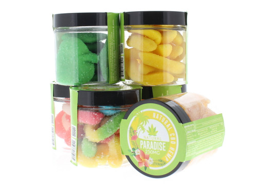 Natural Paradise 250mg CBD Infused Gummies