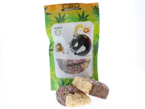 Cured Bomb Desserts Rice Treats 55mg CBD Treats