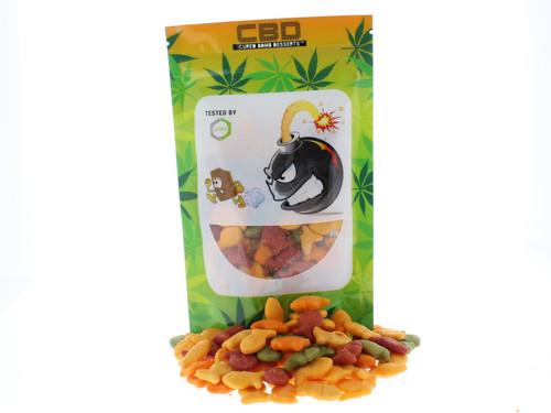 Cured Bomb Desserts Cheddar Fish 55mg CBD Treats