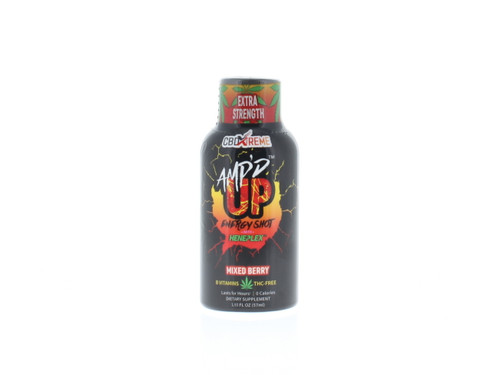 AMP'D UP Mixed Berry CBD Energy Shot by CBDXtreme