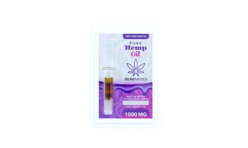 1000mg CBD Pure Hemp Oil Dropper 1ML by Hempmetics