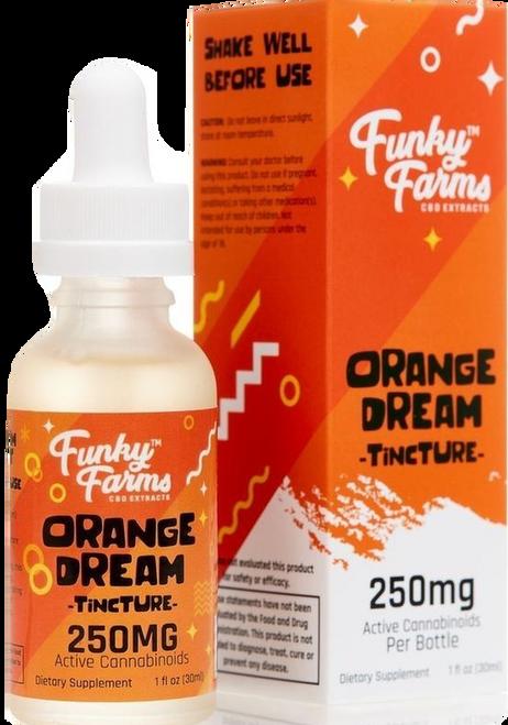 Funky Farms: Orange Dream CBD Tincture (250mg)