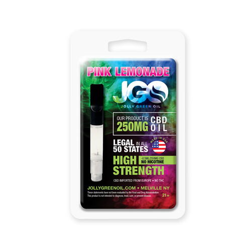 JGO CBD PRE-FILLED CBD CARTRIDGE: 250 MG PINKLEMONADE