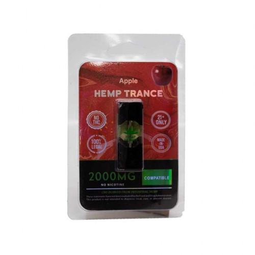 HEMPTRANCE CBD PODS 2000MG 1PK - APPLE