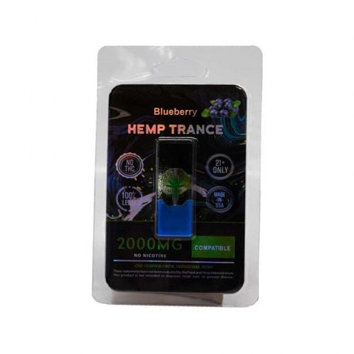 HEMPTRANCE CBD PODS 2000MG 1PK - BLUEBERRY