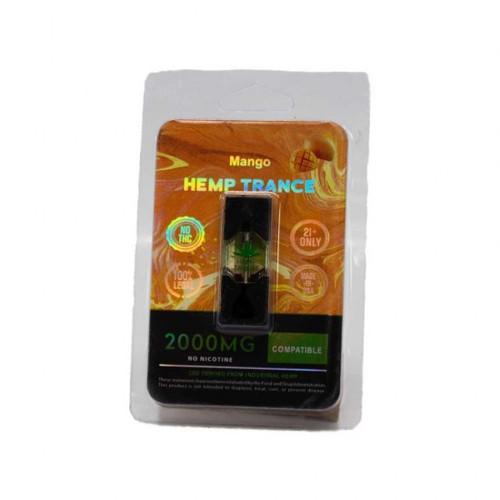 HEMPTRANCE CBD PODS 2000MG 1PK - MANGO