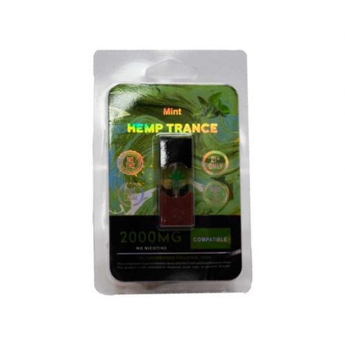 HEMPTRANCE CBD PODS 2000MG 1PK - MINT