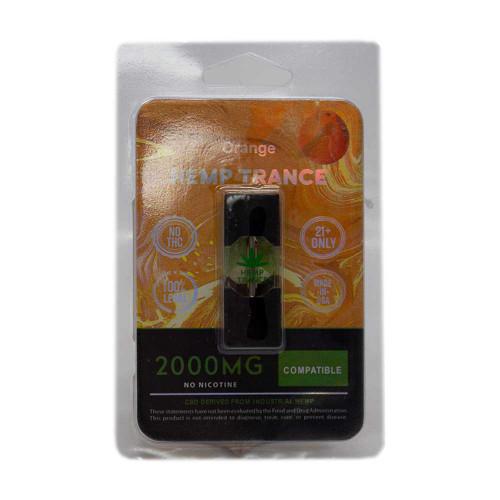 HEMPTRANCE CBD PODS 2000MG 1PK - ORANGE