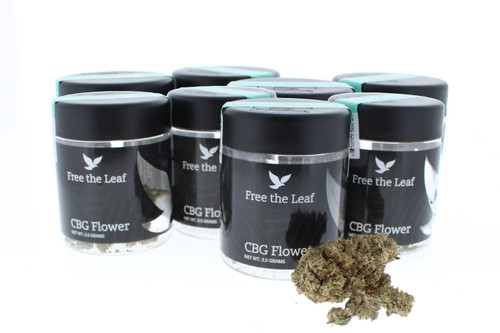 Free The Leaf - 3.5 Grams of CBG Flower