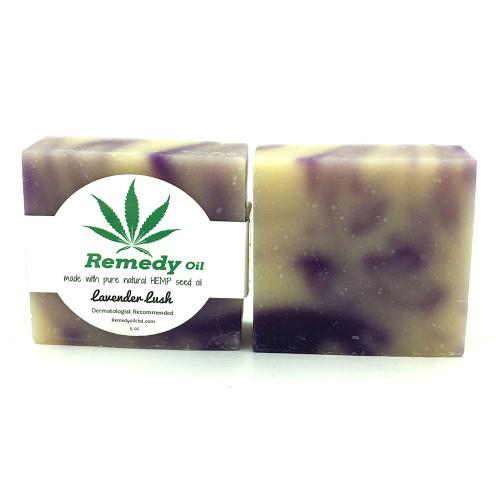Remedy Oil CBD Lavender Lush Hemp Seed Oil Soap Bar