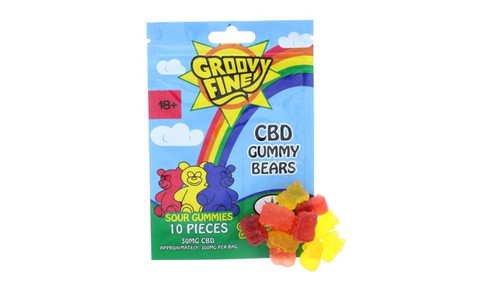 Groovy Fine 300mg CBD Gummies: Gummy Bears