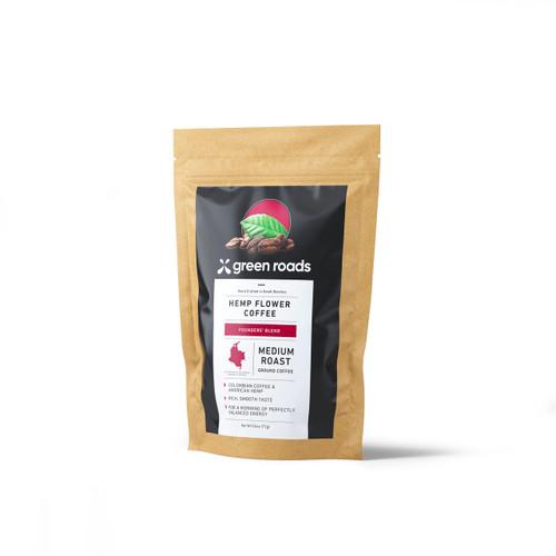 Green Roads Hemp Flower Coffee - Medium Roast