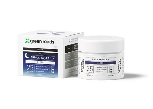 CBD Sleep Capsules 25mg by Green Roads