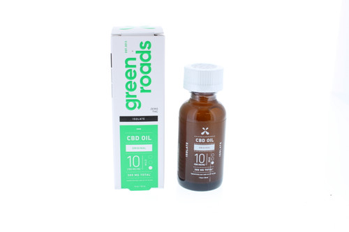 Isolate 300mg CBD Oil - Mild by Green Roads