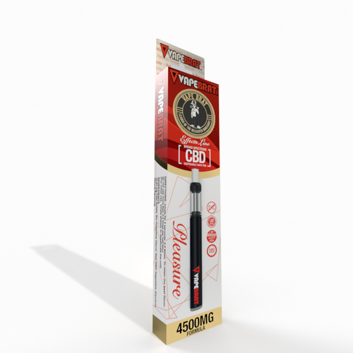 VapeBrat Effects Line Disposable CBD Vape Pen : Pleasure 4500mg