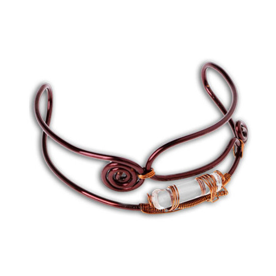 The Bracelet to Counter Shyness helps in communication and sharing with others, counteracting the effects of shyness and inspiring self-confidence in the wearer.