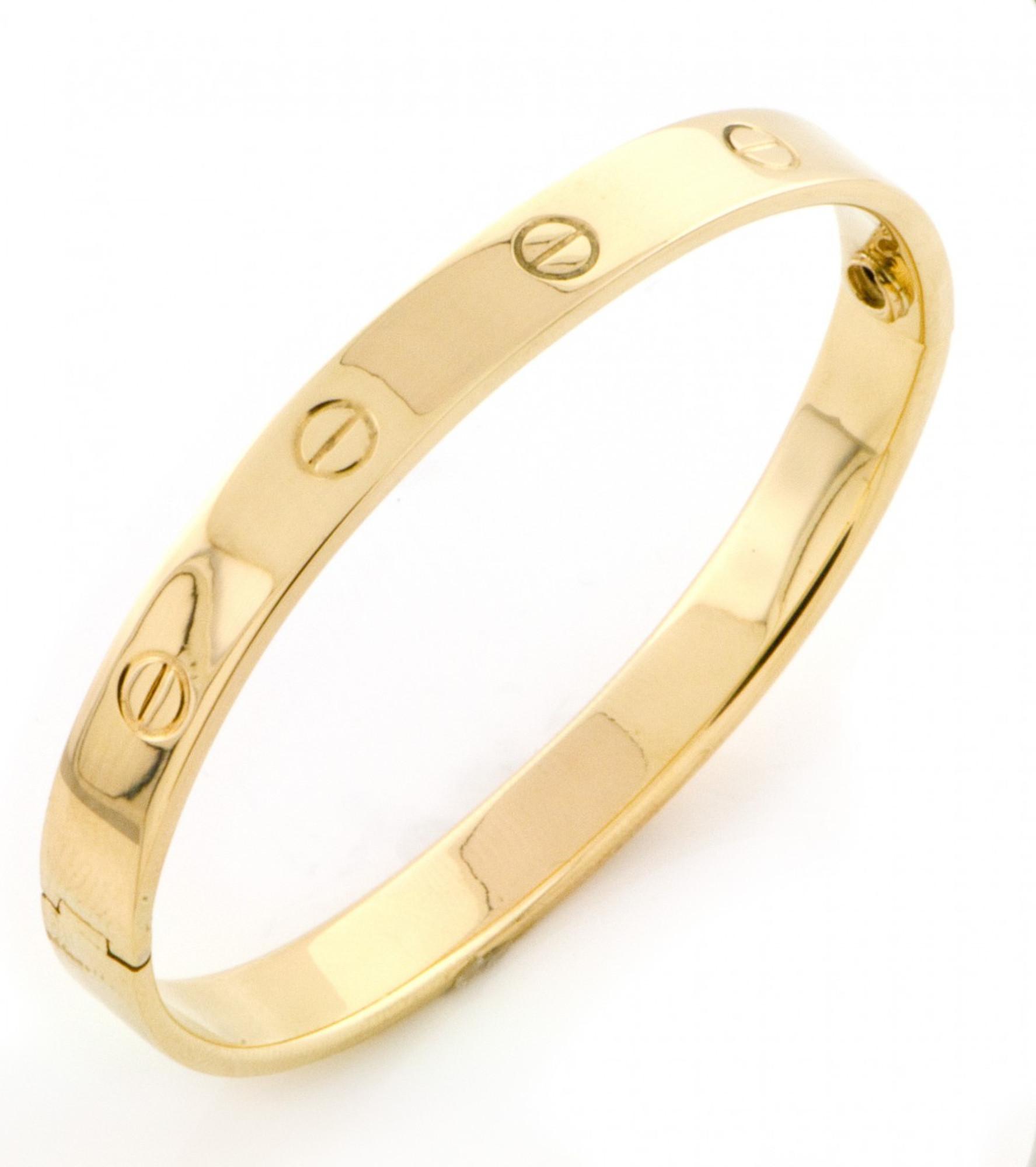 21k Yellow Gold Vikings Bangle Bracelet 21.21