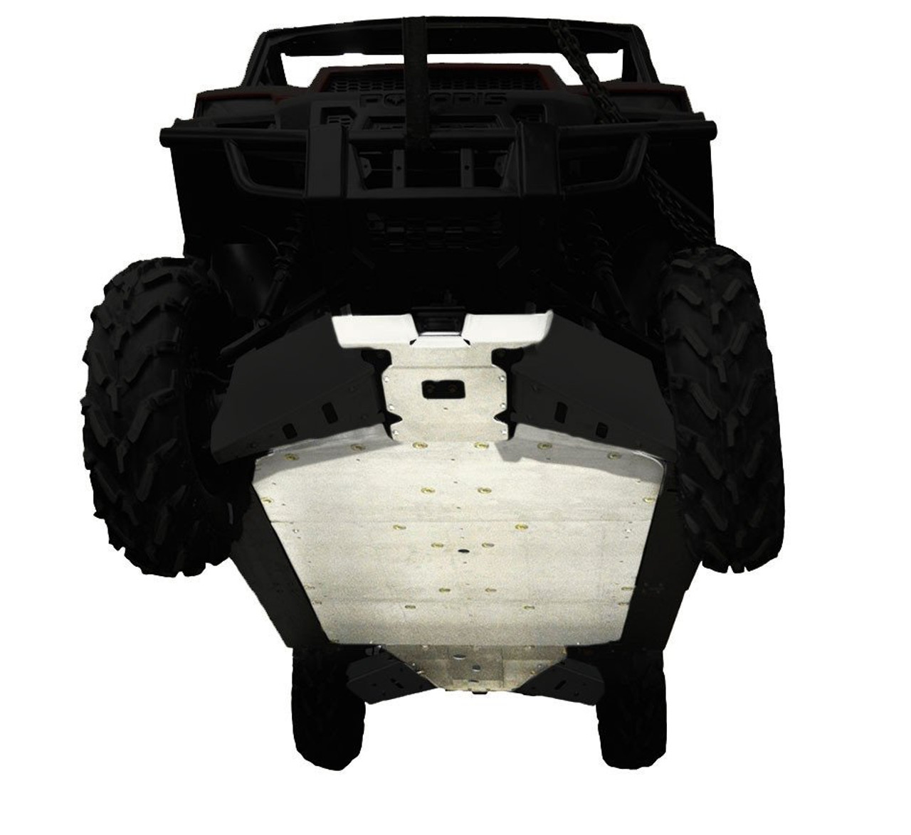 5-Piece Full Frame Skid Plate Set, Polaris Ranger Crew 900/1000
