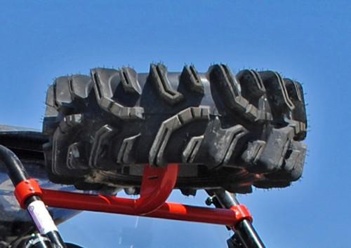 Polaris RZR Turbo S-4 High Profile Spare Tire Mount | UTV Direct
