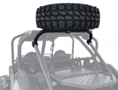 Clamp on Spare Tire Mount Polaris RZR XP1000 2014 2015 2016 USA Made UTV Offroad