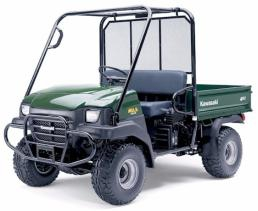 Kawasaki Mule 3010 Cab Enclosures-Heaters