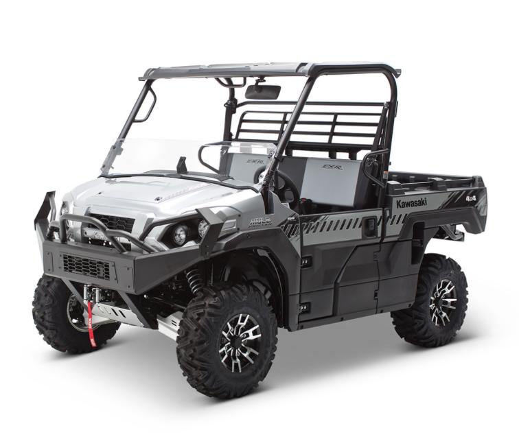 Kawasaki Mule Pro FXR Windshields