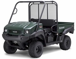 Kawasaki Mule 4010 Cab Enclosures-Heaters