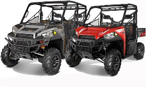 Polaris Ranger XP900-1000 Skid Plates