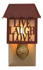 Hope Live Laugh Love Metal Night Light