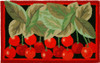 Bright Red Life is a Bowl of Cherries 30 X 20 Inches Accent Area Rug