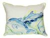 Coastal Bottlenose Dolphins Indoor Outdoor Pillow 16 X 20 Made in the USA