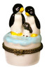 Arctic Baby Penguin Penguins Family Trinket Box phb